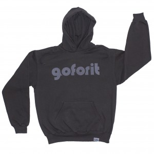 Goforit - HOODY (grey)